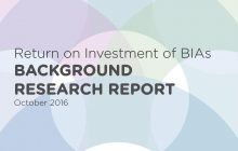 ROI of BIAs Background Research Report Cover