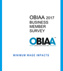 OBIAA 2017 Business Member Survey Cover
