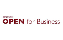 Ontario Open for Business Logo