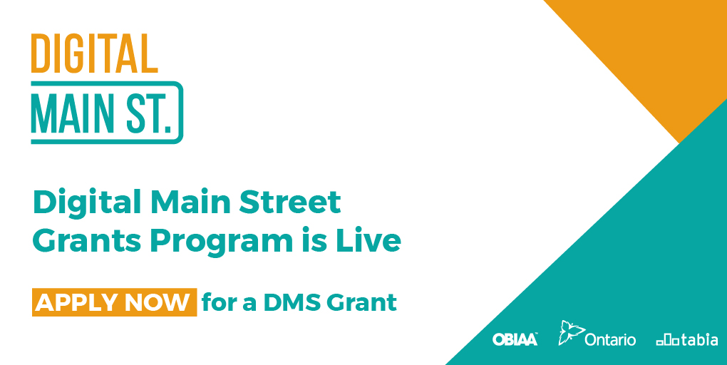 Ontario Small Businesses Start Qualification Process for $2,500 Digital Main Street Transformation Grant