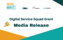 Digital Main Street Digital Service Squad Grant Media Release