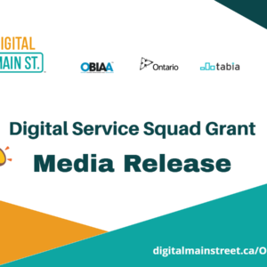 Municipality of Port Hope Launches Digital Main Street Service Squad