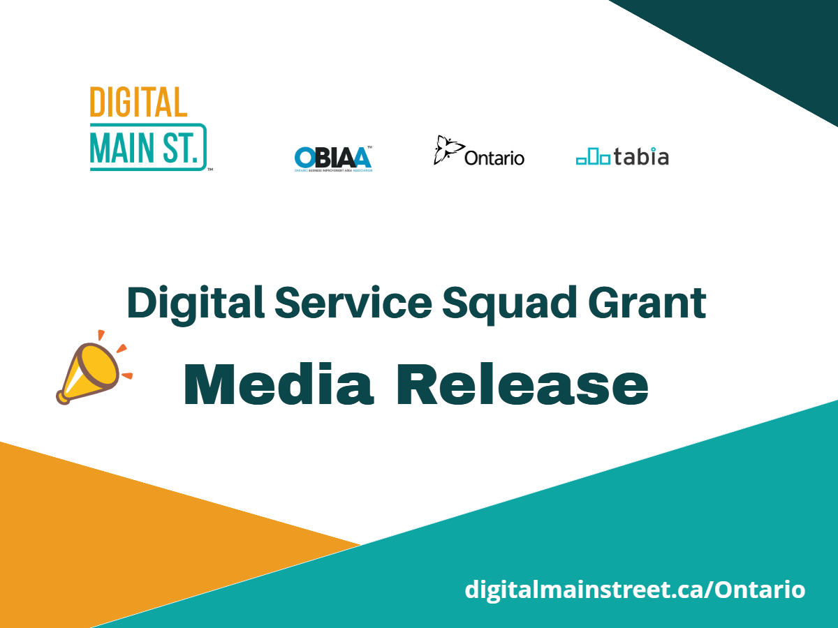 Orangeville & Area Small Business Centre Launches Digital Main Street Service Squad