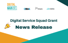 Digital Main Street News Release