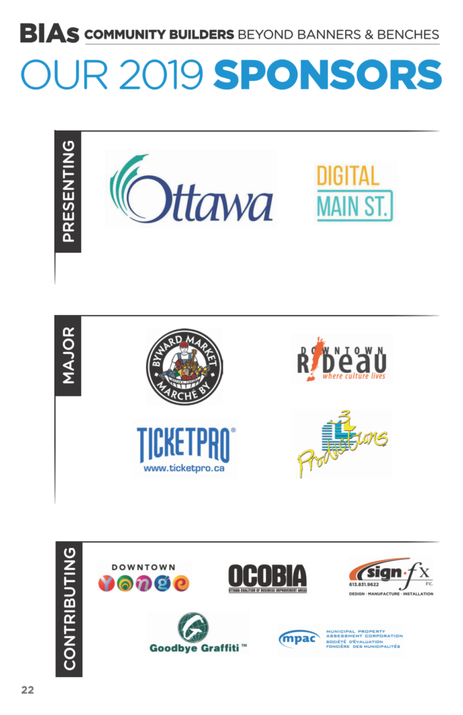 2019 OBIAA Conference Sponsors