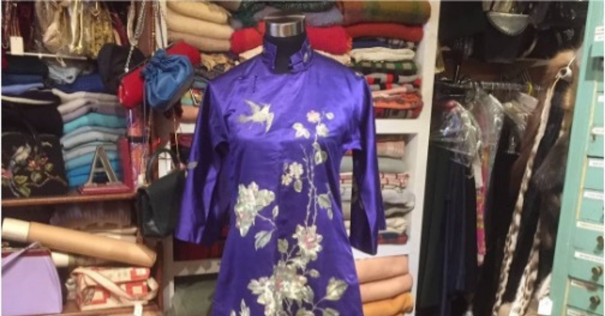 From local vintage clothing and antiques store to global enterprise