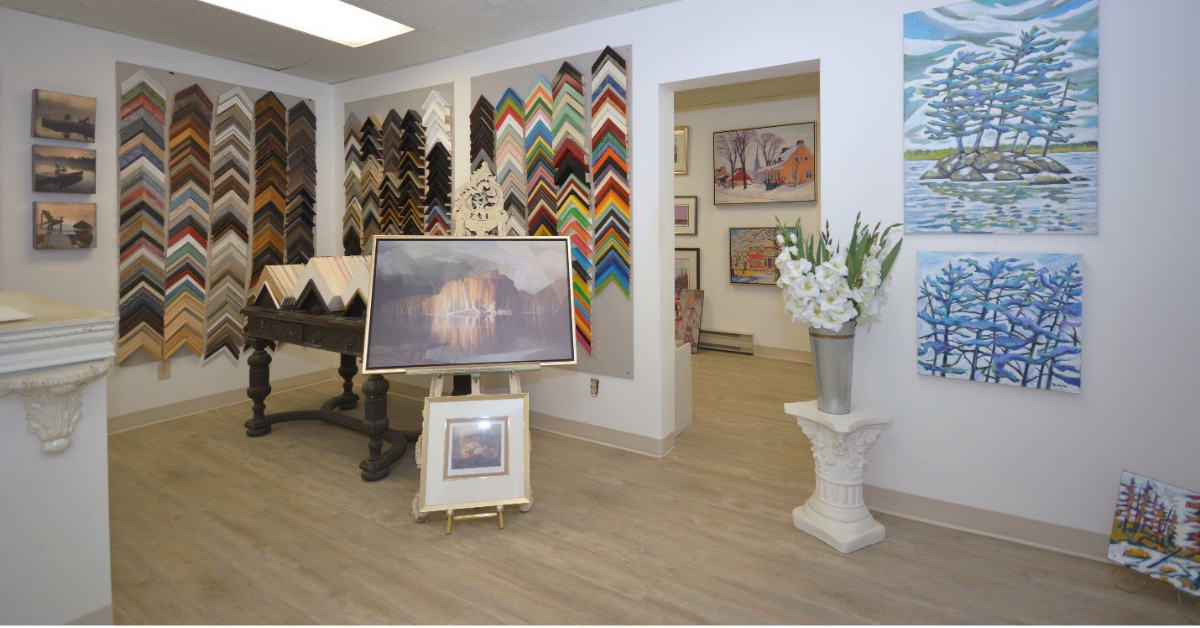 Southern Ontario DMS Short Takes – The Art Shop, Village of Lakefield